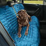 Kurgo Loft Coastal Blue/Charcoal Bench Seat Cover