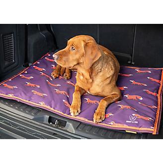 Digby and Fox Plum Fox Waterproof Dog Bed