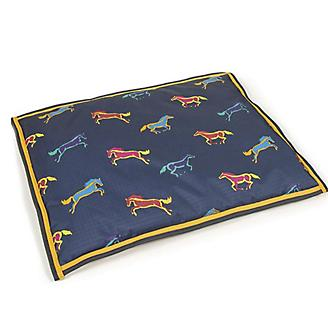 Digby and Fox Horse Print Waterproof Dog Bed