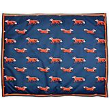 Digby and Fox Fox Print Waterproof Dog Bed
