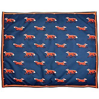 Digby and Fox Fox Print Waterproof Dog Bed