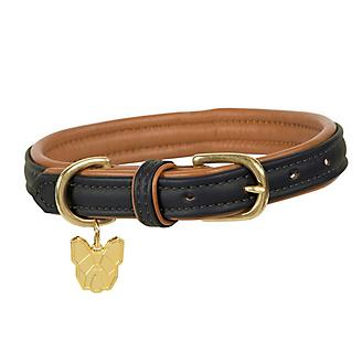 Digby and Fox Padded Leather Collar