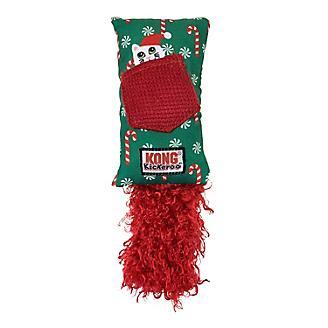 KONG Holiday Kickeroo Refillable Cat Toy