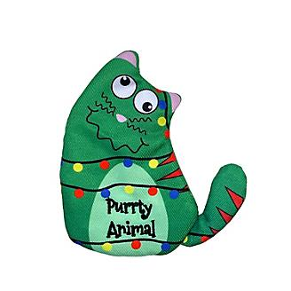KONG Holiday Purrsonality Purrty Animal Cat Toy