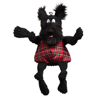Hugglehounds Scotch Scottie Knottie Dog Toy