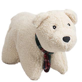 Hugglehounds Squooshie Polar Bear Dog Toy
