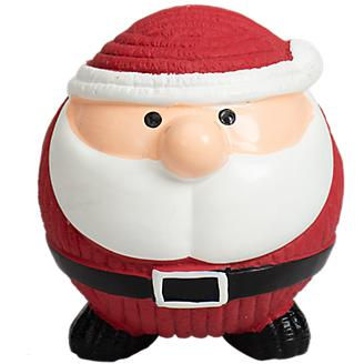 Hugglehounds Santa Ruff Tex Dog Toy