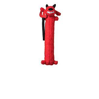 Halloween Loofa Devil Dog Toy 12in