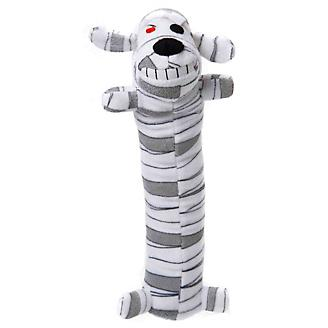 Halloween Loofa Mummy Dog Toy 12in