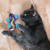 KONG Better Buzz Gecko Cat Toy