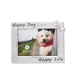 Arthur Court Happy Dog 5x7 Photo Frame