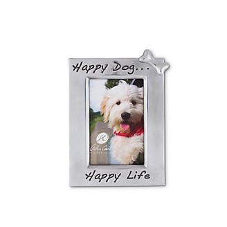 Arthur Court Happy Dog 4x6 Photo Frame