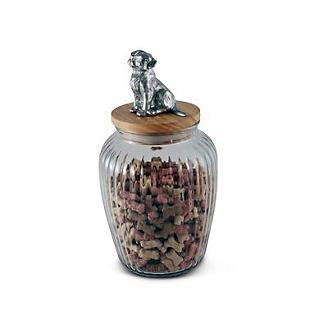 Arthur Court Dog Treat Jar