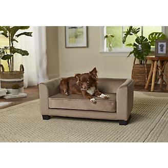 Enchanted Home Pet Surrey Beige Pet Sofa Bed