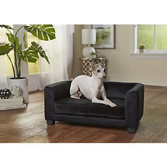 Enchanted Home Pet Surrey Black Pet Sofa Bed