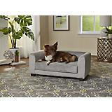 Enchanted Home Pet Surrey Gray Pet Sofa Bed