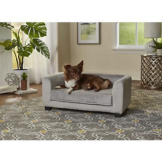 Enchanted Home Pet Surrey Gray Pet Sofa Bed