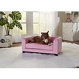 Enchanted Home Pet Surrey Pink Pet Sofa Bed
