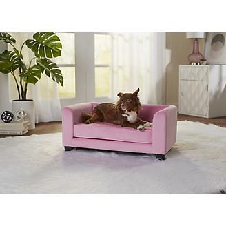 Enchanted Home Pet Surrey Pink Pet Sofa Bed