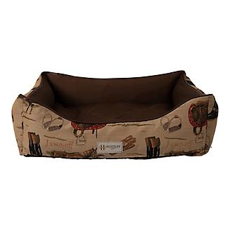 Huntley English Tapestry Bolster Pet Bed