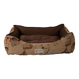 Huntley Western Tapestry Bolster Pet Bed