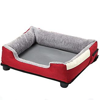 Pet Life Dream Smart Burgundy Red Pet Bed