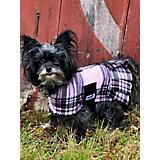 Snugpups London Pink Plaid Fleece w/Skirt