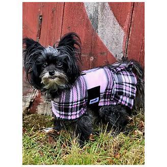 Snugpups London Pink Plaid Fleece w/Skirt