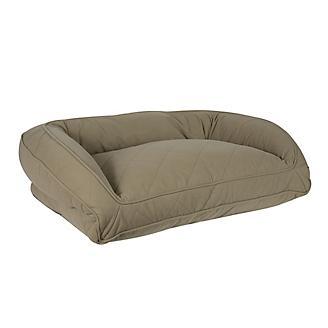 Carolina Pet Sage Memory Foam Bolster Dog Bed