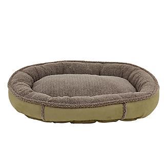 Carolina Pet Sage Memory Round Comfy Cup Bed