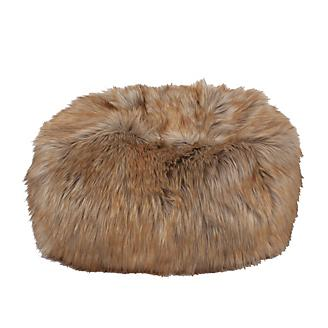 Carolina Pet Ombre Faux Fur Puff Ball Bed