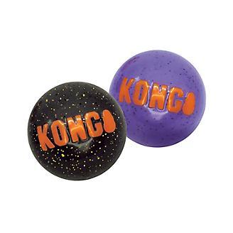 KONG Halloween Signature Ball Dog Toy 2 Pack