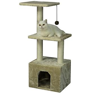 Armarkat A3902 3 Tier Cat Condo with Scratch Post