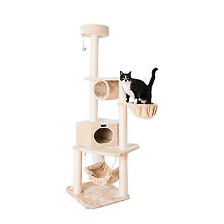 Armarkat A7204 Entertainment Cat Tower w/Perch