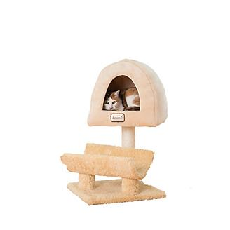 Armarkat X3007 Cat Condo with Scratching Post