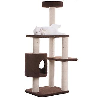Armarkat F5502 3 Level Carpeted Cat Tree Condo