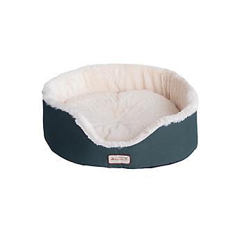 Armarkat Laurel Green/Ivory Oval Cuddle Cat Bed
