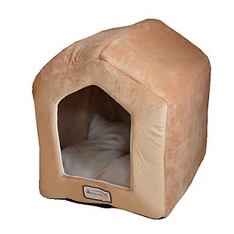 Armarkat Brown and Beige Small Indoor Cat House