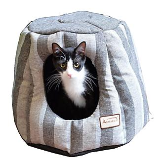 Armarkat Gray/Silver Cave Cat Bed