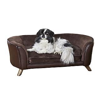 Enchanted Home Pet Paloma Pebble Brown Pet Sofa
