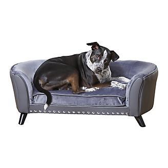 Enchanted Home Pet Paloma Pebble Gray Pet Sofa