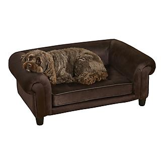 Enchanted Home Pet Chester Brown Pet Sofa
