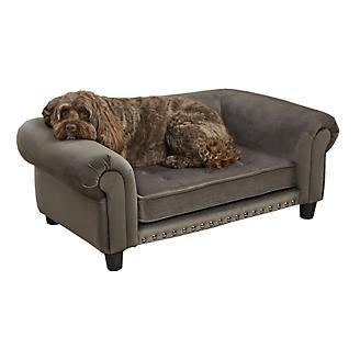Enchanted Home Pet Chester Gray Pet Sofa