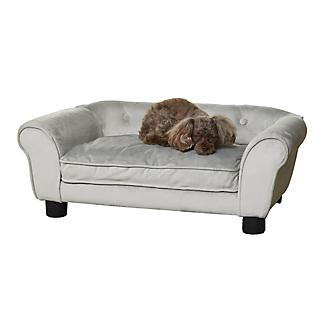 Enchanted Home Pet Charlotte Gray Pet Sofa