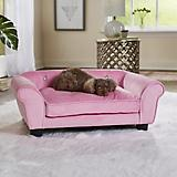 Enchanted Home Pet Charlotte Light Pink Pet Sofa