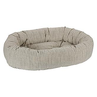 Bowsers Augusta Ticking Donut Dog Bed