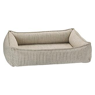 Bowsers Augusta Ticking Urban Lounger Dog Bed