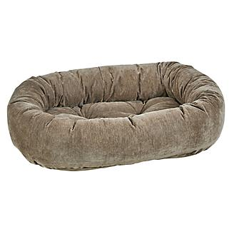 Bowsers Bark Chenille Donut Dog Bed