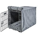 Bowsers Mineral Microvelvet Dog Crate Cover