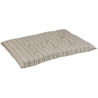 Bowsers Sanibel Stripe Tufted Cushion Dog Bed
